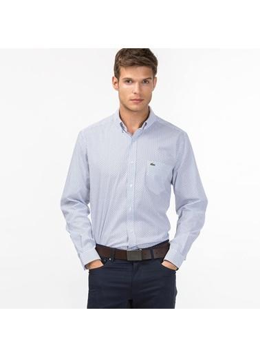 Lacoste Uzun Kollu Slim Fit Gömlek Renkli